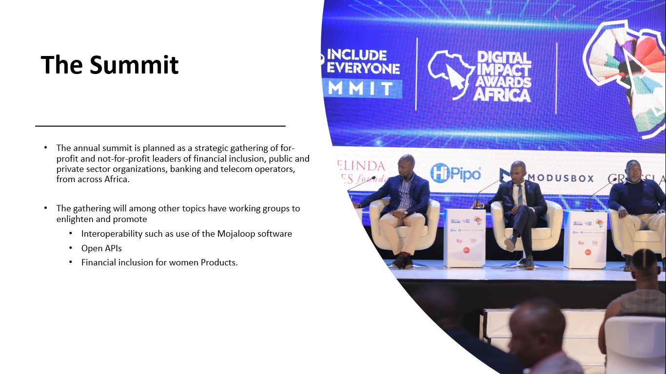 Summit -Include Everyone - HiPipo Foundation Program