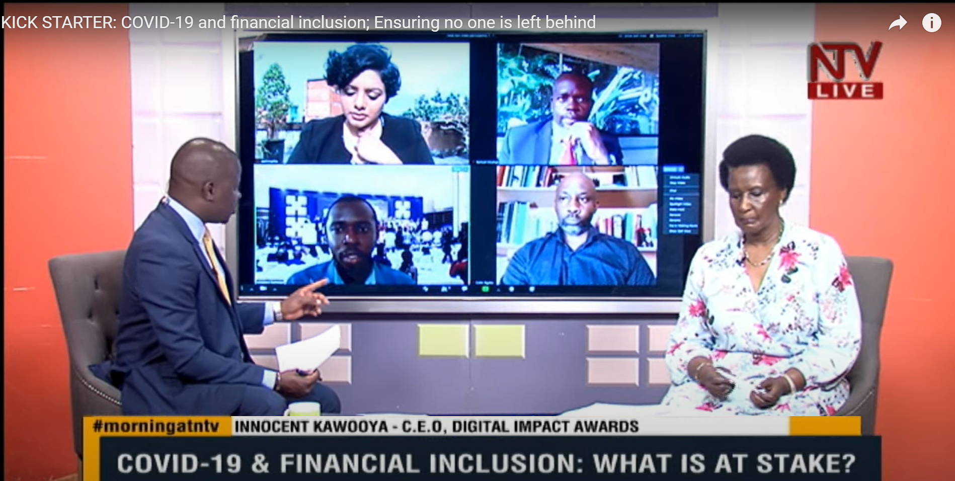 COVID-19 & Financial Inclusion: What is at stake? #MorningAtNTV